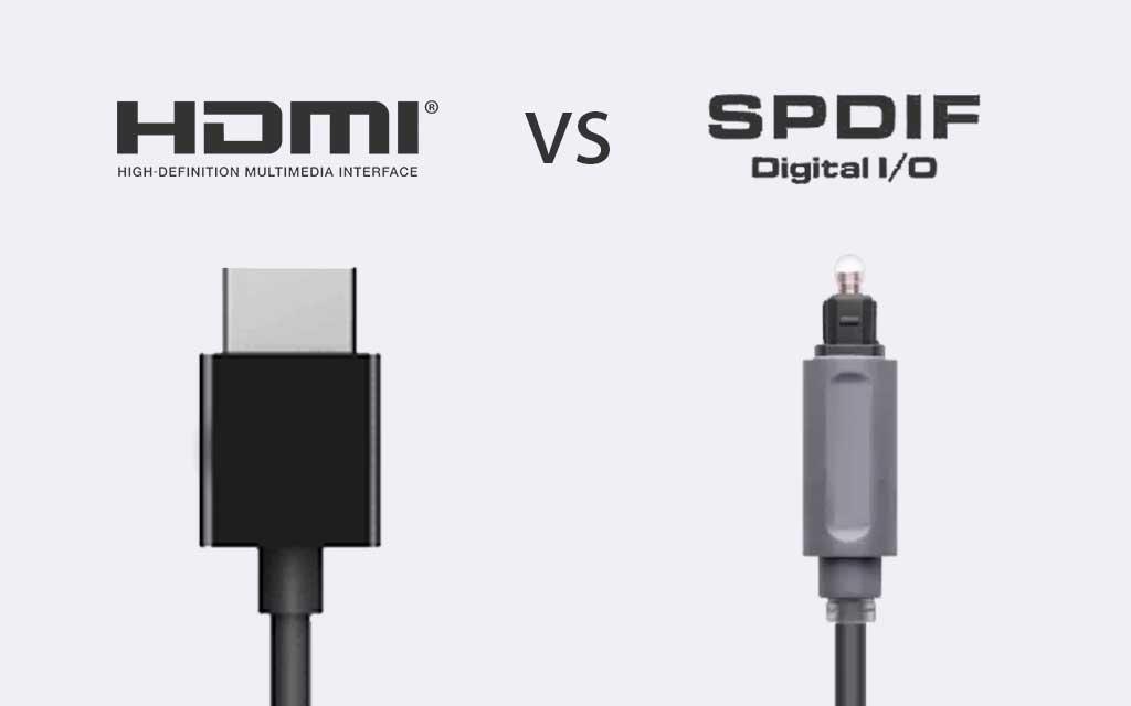 برای انتقال صدا کدام بهتر است؟ HDMI یا Optical(S/PDIF)