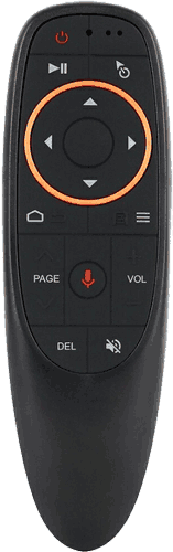 G10 Air Mouse BLACK VOICE WITHOUT AIR MOUSE VERSION 3742