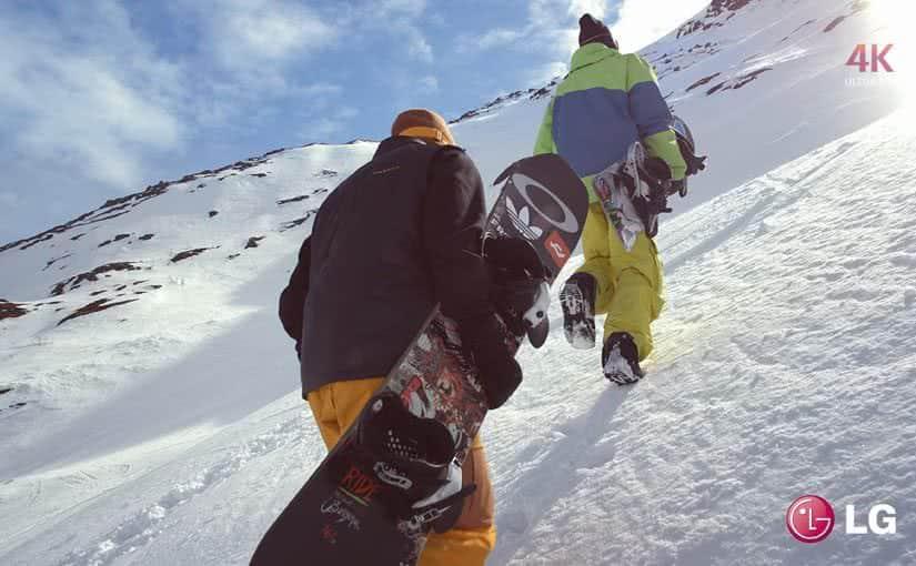 LG Snowboarding