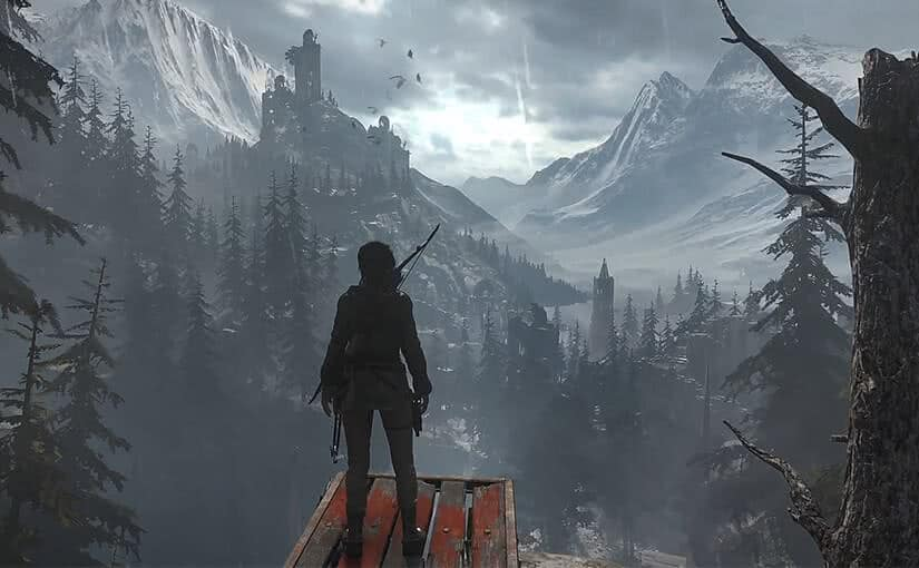 Sony PS4 Rise Of The Tomb Raider