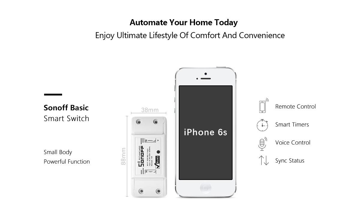 Android Box Dot Ir Sonoff Basic 01