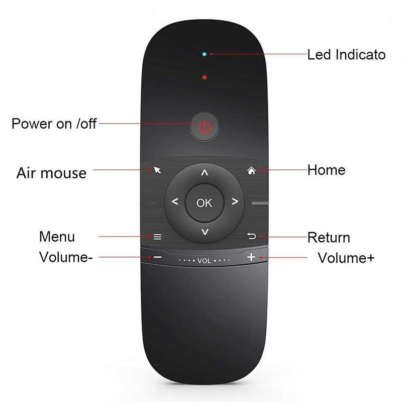 Android Box Wechip W1 Air Mouse And Keyboard Post Image 02