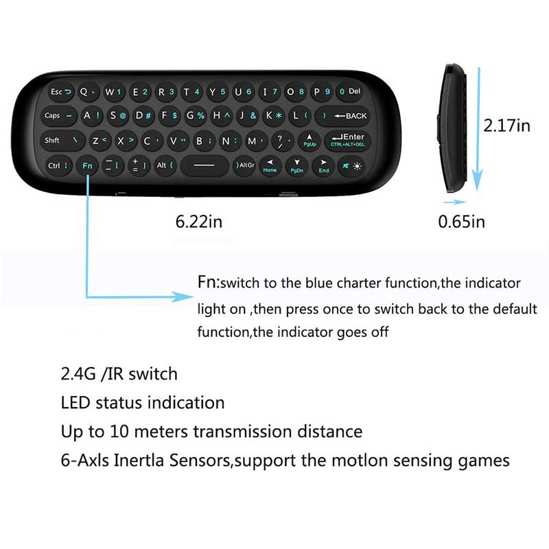 Android Box Wechip W1 Air Mouse And Keyboard Post Image 04