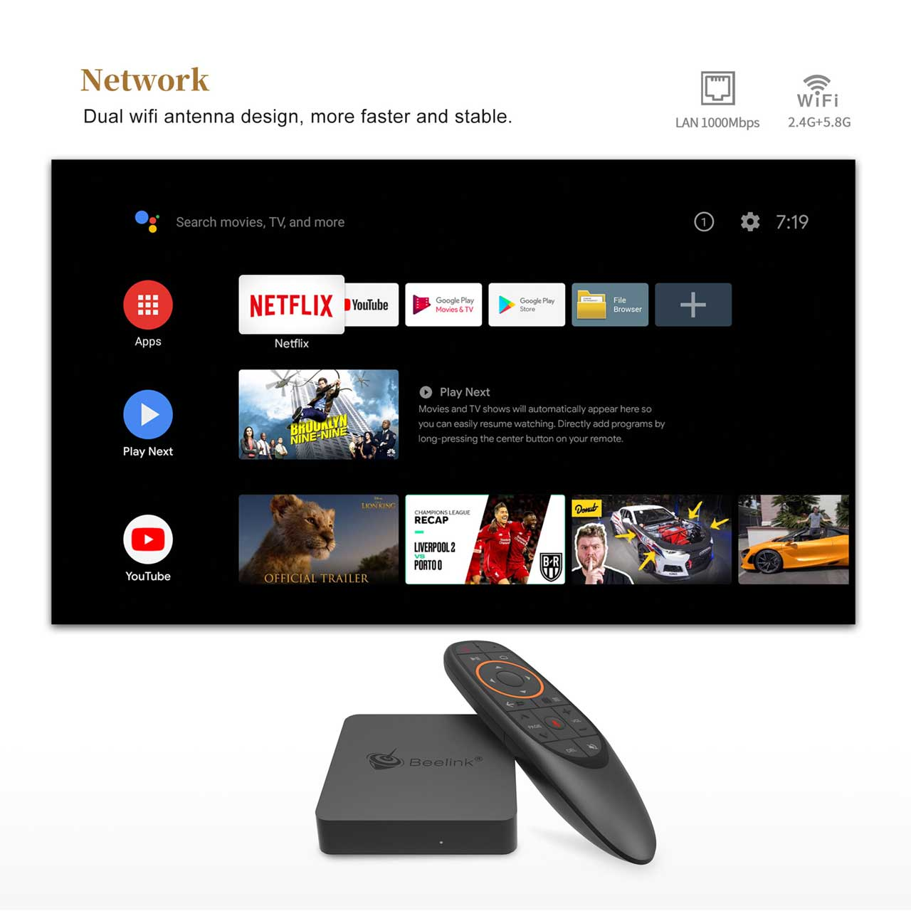 Android Box Dot Ir Beelink GT Mini A Detail (6)