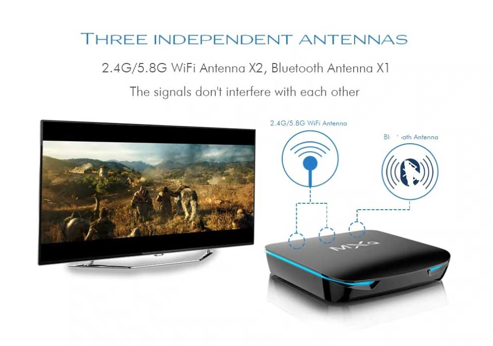 Android Box Dot Ir MXQ G12 04