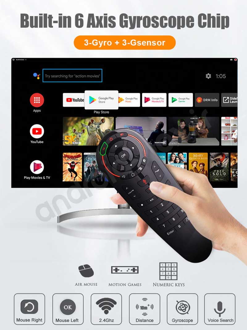 Android Box Dot Ir Wechip G30 Air Remote Banner 02