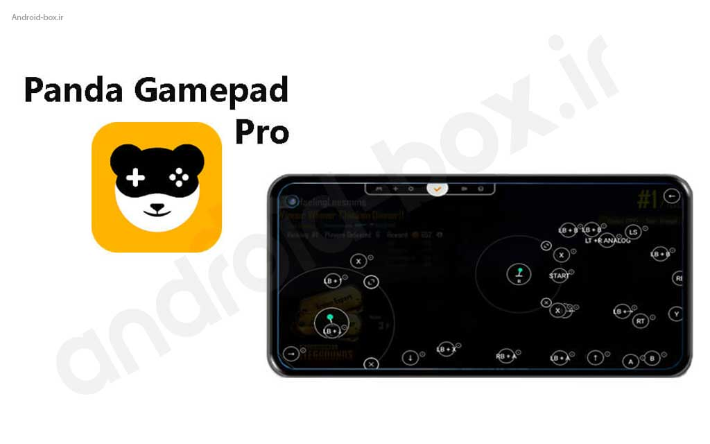 Touch Screen Simulator On TV And Android Box With PANDA Gamepad Pro