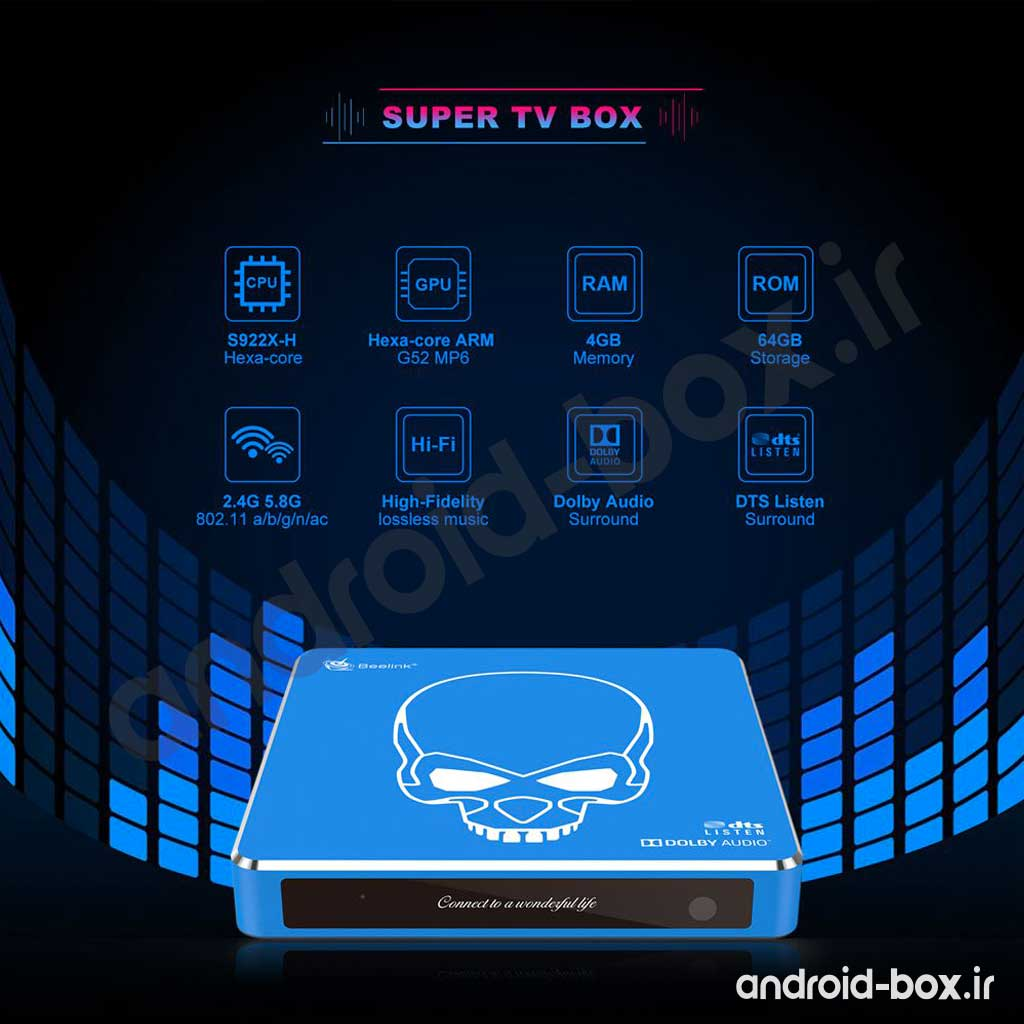 Android Box Dot Ir Beelink GT King Pro Banner 03