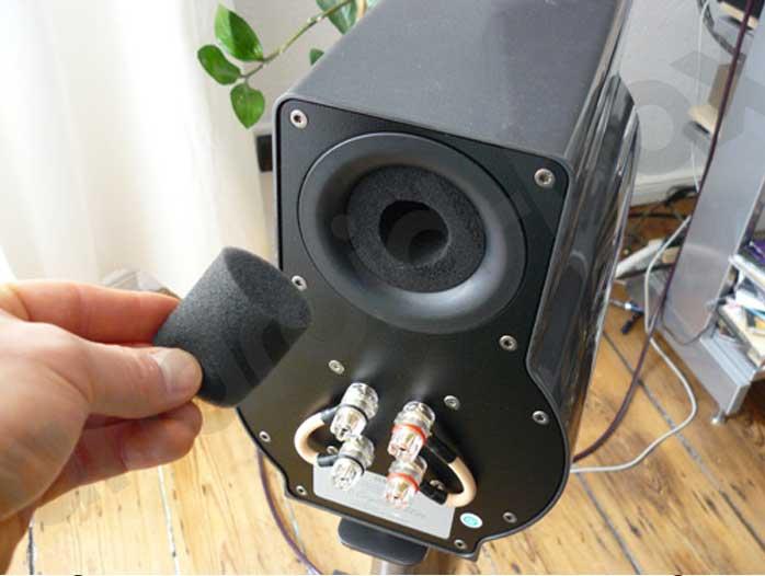 Speaker Port Plgs Foam