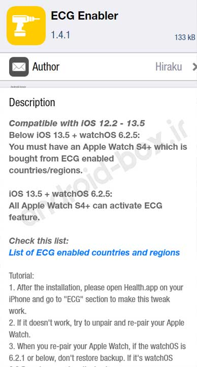 How To Install Ecg Enabler Tweak In Cydia For Apple Watch 4 And 5