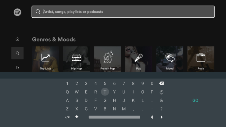 Sleek New Gboard Design Starts Rolling Out To Android TV Spotify Old Gboard