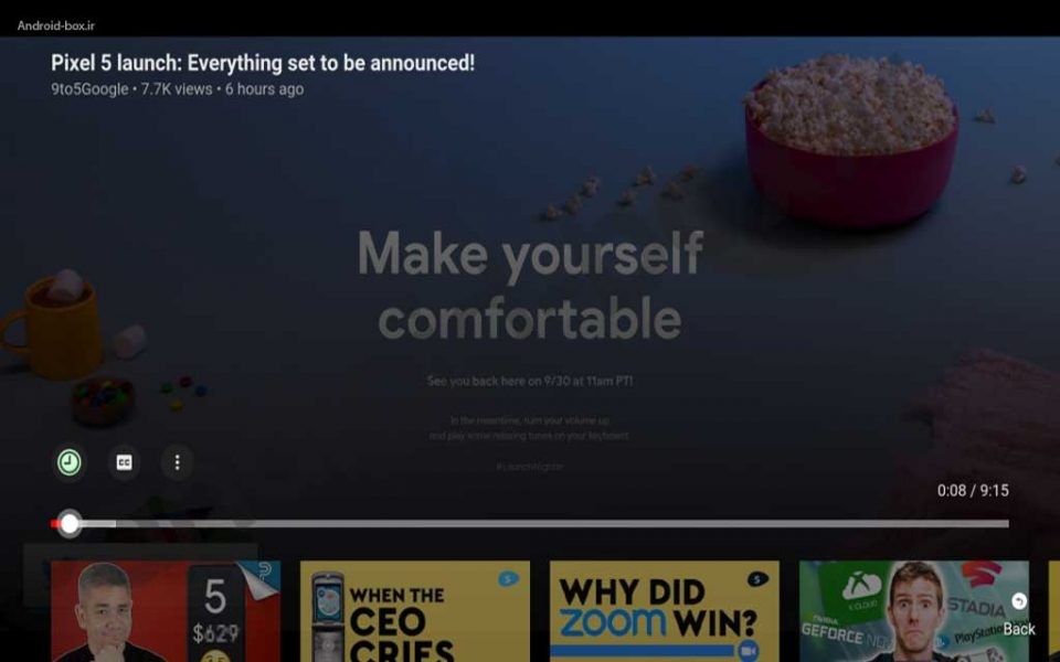 YouTube Brings A New Interface On Android TV And Fire TV