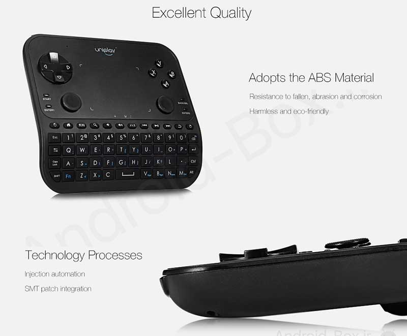 Android Box Dot Ir Uniplay U6 Smart Gamepad Banner 10