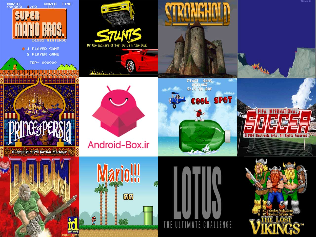 Dos Collection Games With Direct Download