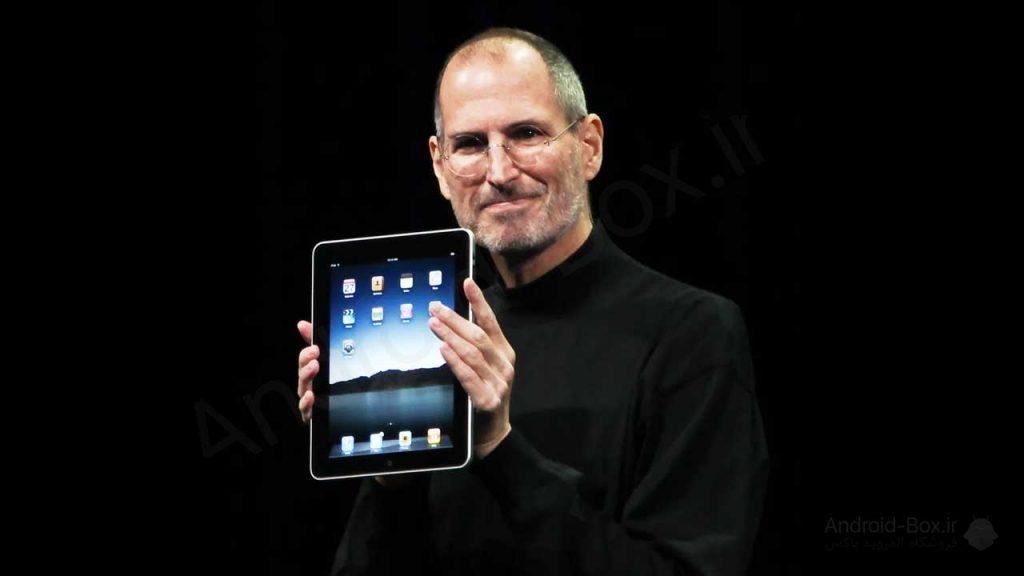 Steve Jobs Introduces Original IPad