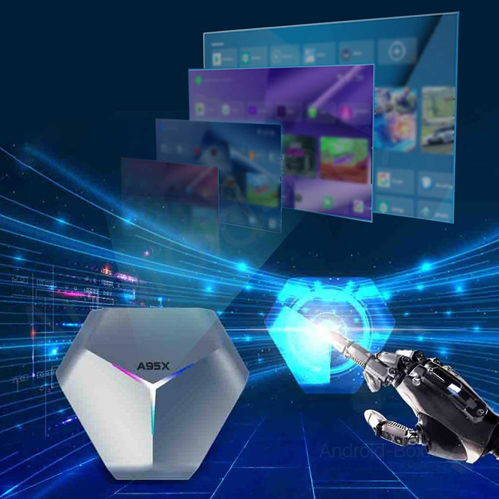 Android Box Dot Ir A95x F4 Android 10 Tv Box Banner 03