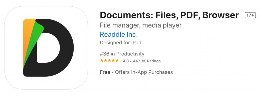 Download Documents Files And Pdf For Iphone And Ipad