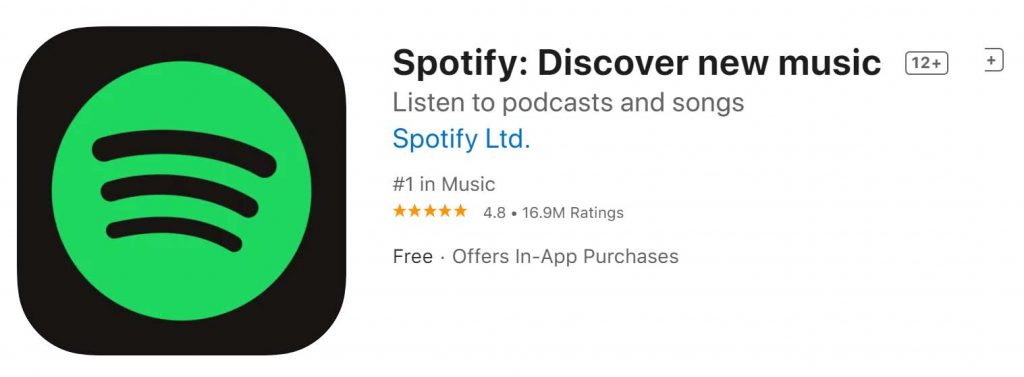 Download Spotify Descover Music For Iphone And Ipad