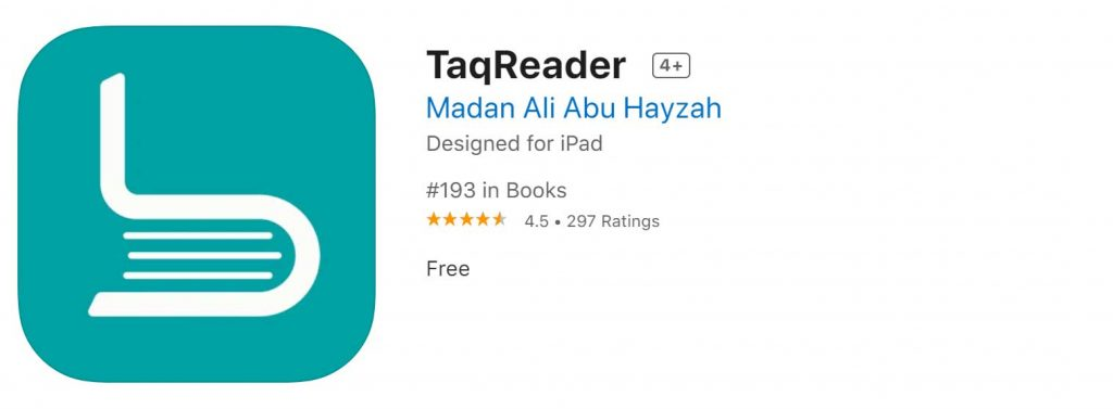 Download Taqreader Ebook Reader For Iphone And Ipad