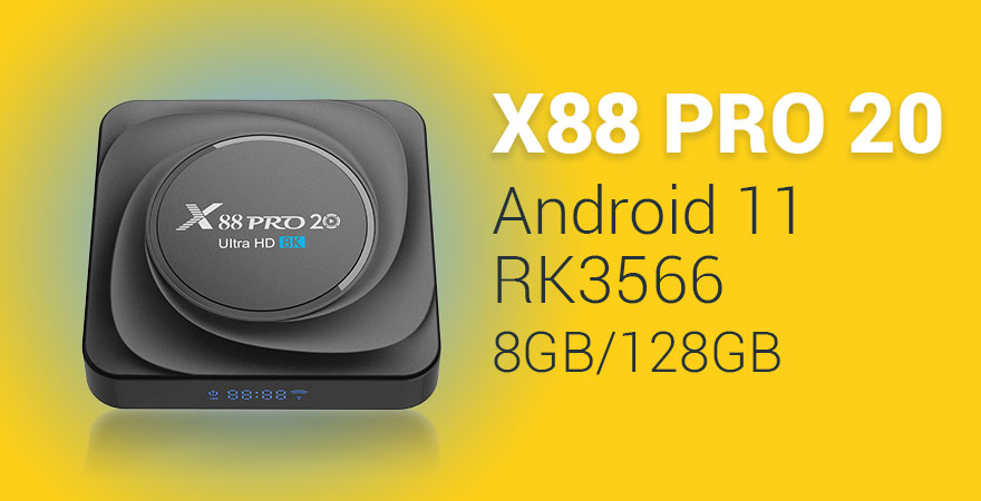Android Box Dot Ir Banners 880x450 X88 Pro 20