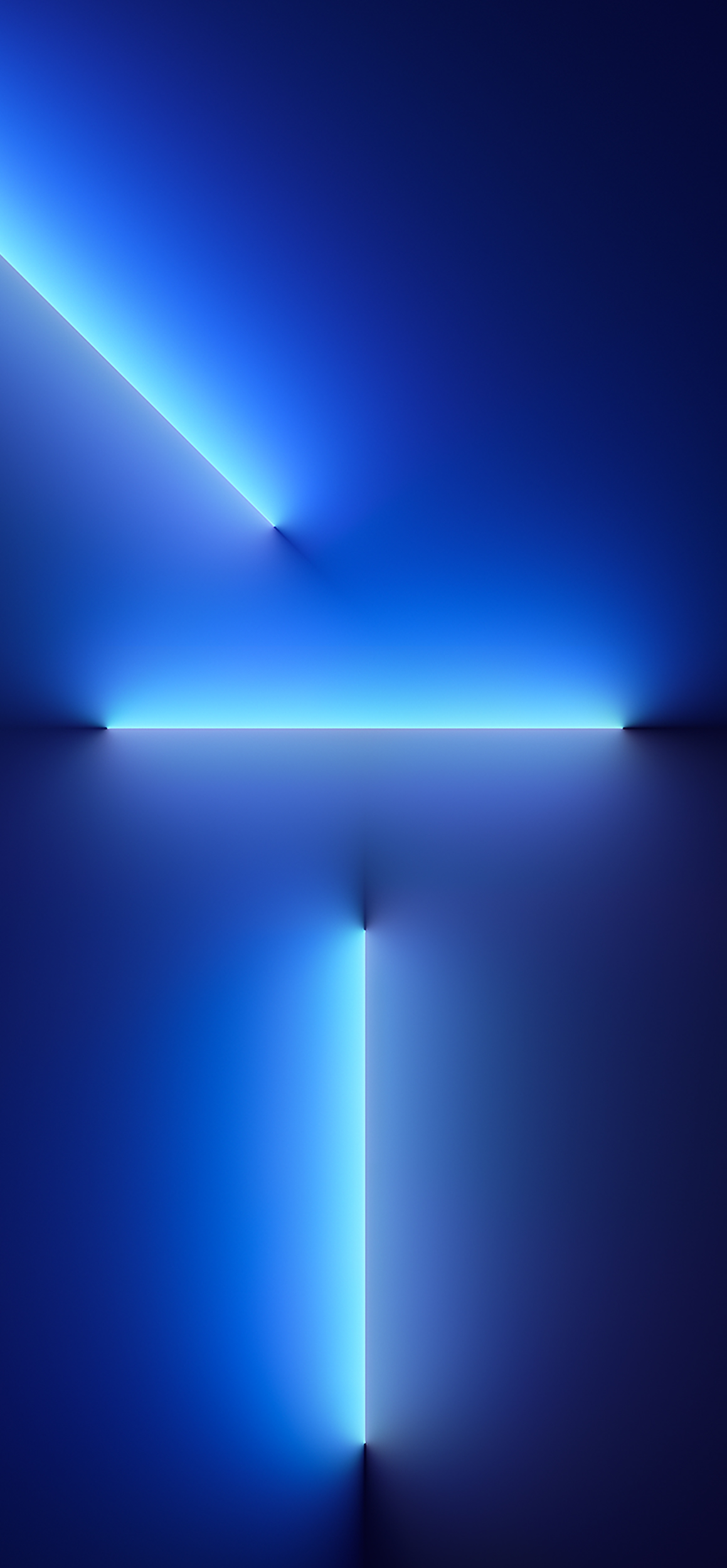 IPhone 13 Pro Wallpaper In Blue Lights