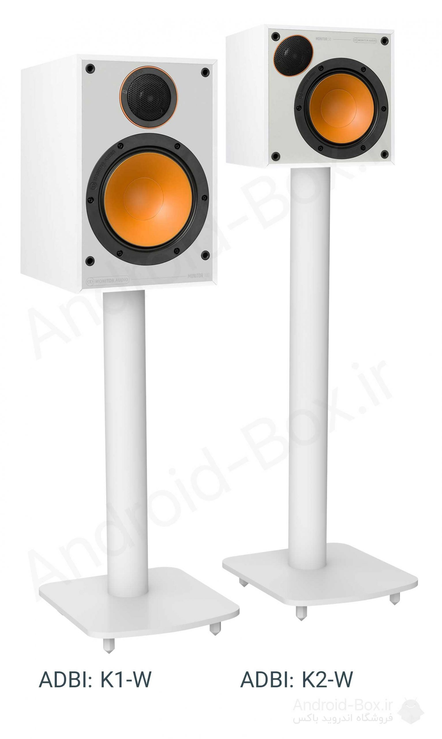 Android Box Dot Ir PRODUCTS Professional Speaker Stands K Series White